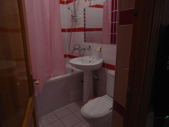 Siyavush Hotel: バストイレ