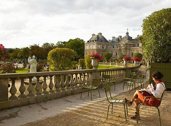 Jardin du luxembourg picture of paris ile de france for Restaurant jardin ile de france