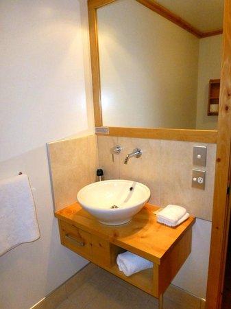 Coronation Lodge: Wash and mirror