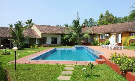 Ginger Tree Boutique Anjuna: Villas and other pool