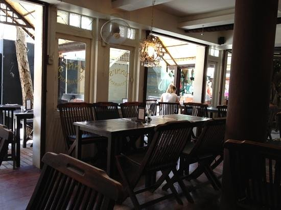 Unni's Restaurant: from inside