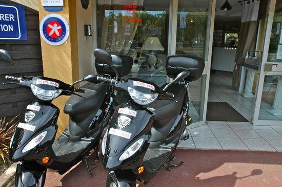 Hotel Opal : location de scooters