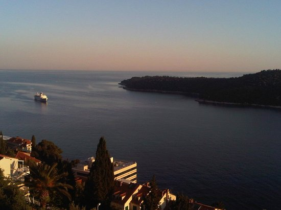 Villa Rosa: Вид с балкона
