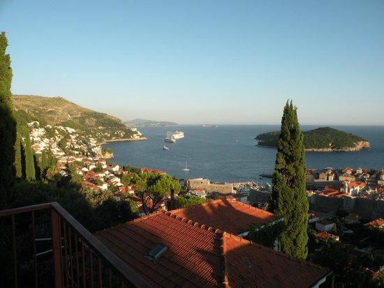 Villa Rosa: Вид с балкона апартамента