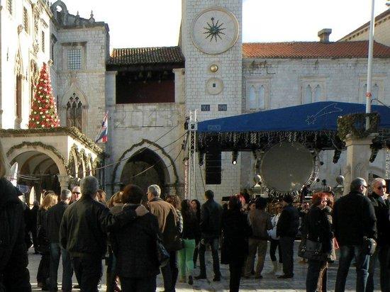 Villa Rosa: Елка в Старом городе