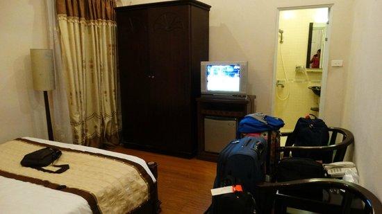 Bodega Hotel: Esta fue nuestra habitacion