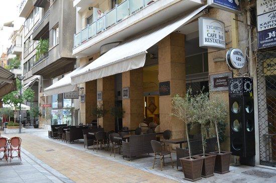 Athens Lycabettus Hotel: Façade hôtel