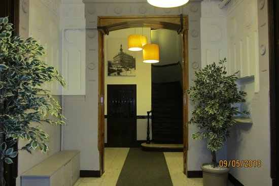 Hostal Veracruz II: Вход (хостал на 3-ем этаже)