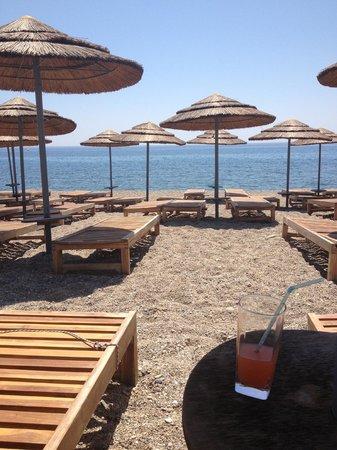 Mitsis Blue Domes Resort & Spa: пляж