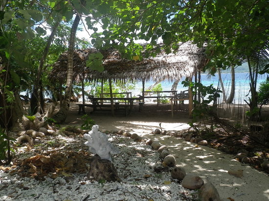 Tranquillity Island Resort & Dive Base: Survivor series hut