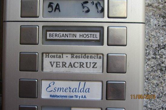 Hostal Veracruz II: Домофон