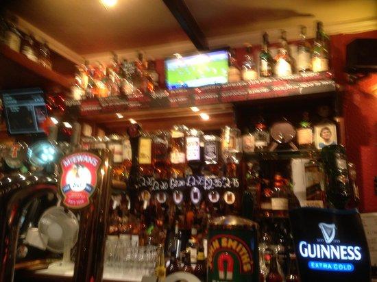 The Keys Bar: Whiskey & dodgy beer :)