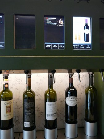 La Baracca Hamburg : Wein - Selbstbedienung