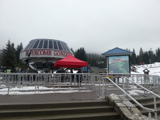 Whistler, Canada: blackcom lift