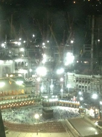 Swissotel Makkah : The view from our room