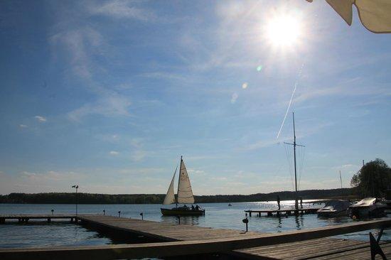 Przystan Restauracja: der See der Entspannung...