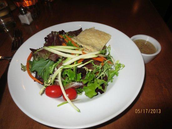 50 West: house salad