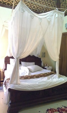 Putu Bali Villa and Spa: The bed