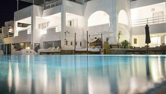 Andronikos Hotel: Pool Area, Mykonos