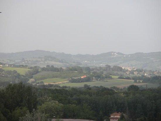 Perugia Park Hotel: verde umbria
