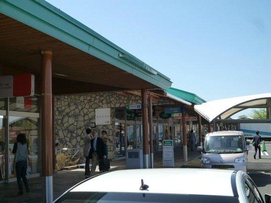 Karuizawa prince shopping plaza: 開店です。いよいよ。