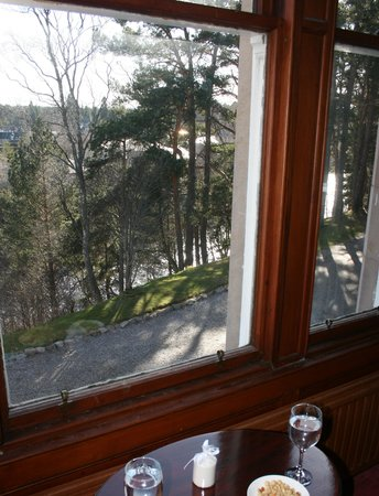 Dalrachney Lodge Hotel : The view from Room 1