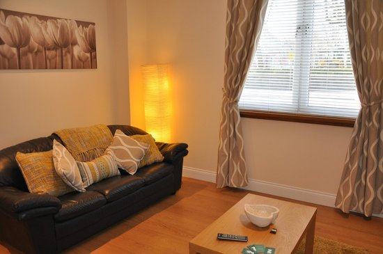 Zinn Apartments: Lounge - Apartment A @ 82 Great Northern Road, Aberdeen.