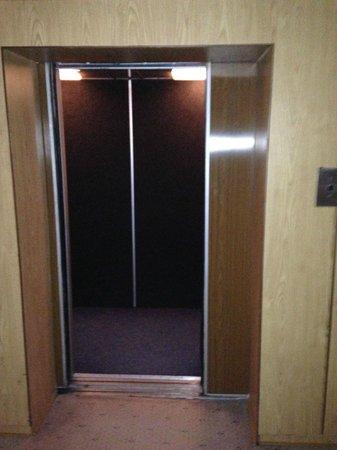 Hotel Dacia: Elevator