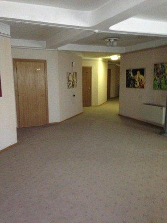 Hotel Dacia: Hallway