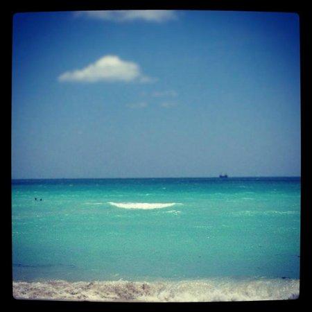 Ithaca of South Beach Hotel: The beach