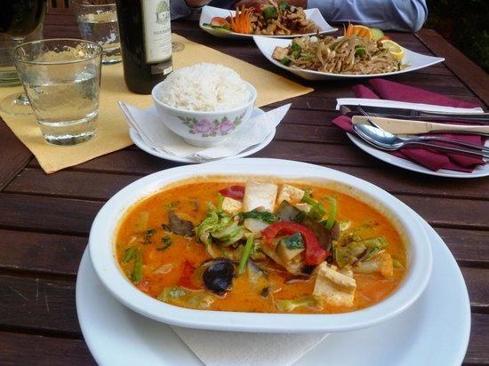 Sabaidy: And the winner is - red vegetarian kari!
