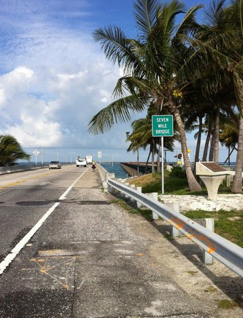 Key Largo Bicycle and Adventure Tours: the new thrilling seven mile bridge