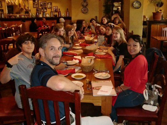Johnny Carino's: My Daughter's 14th B-day Celebration (April'12)