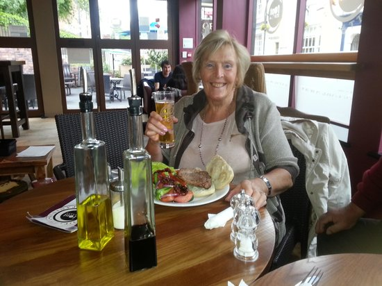 The Font Italia: lovely meal