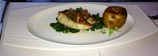 Atlantica Restaurant : Olive Oil Poached Cod