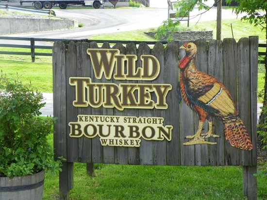 Wild Turkey Distillery: This a sign outside the Wild Turkey visitors center