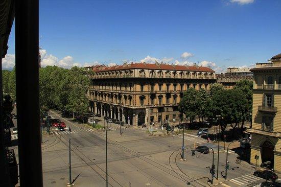 Conte Biancamano Hotel : vista dalla camera