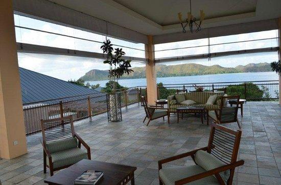Raffles Seychelles: Welcome area