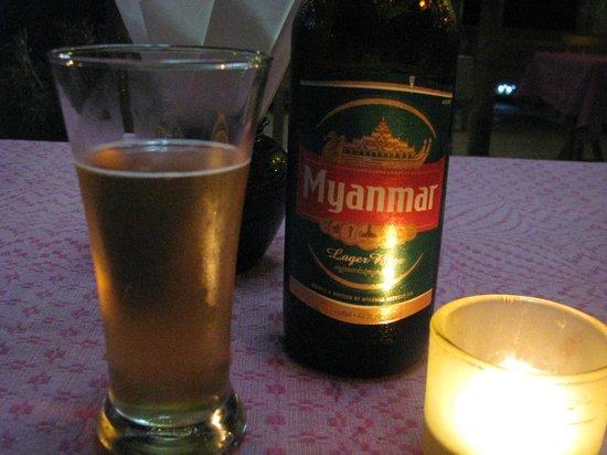 Golden Sunrise Hotel: Myanmar beer K2500