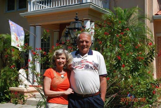 Outside of Magnolia Inn B&B