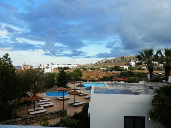 Lindos Gardens Resort Complex : VIEW FROM BALCONY