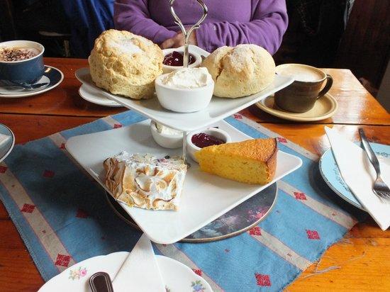 Brig o' Turk Tearoom and Restaurant: Homemade Cakes & Scones