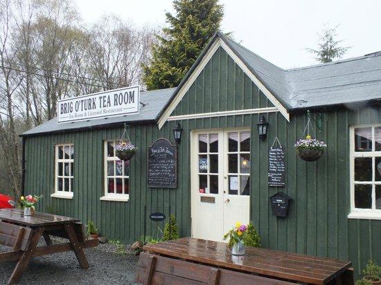 Brig o' Turk Tearoom and Restaurant: Front of the tea room