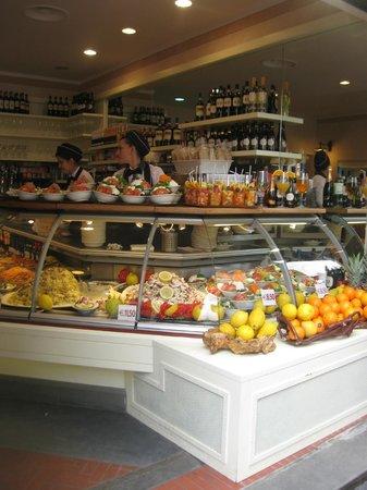 Caffetteria Tavola calda Letizia: Bella presentazione del cibo