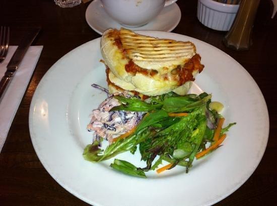 Atina Kitchen: Meatball & Mozarella panini