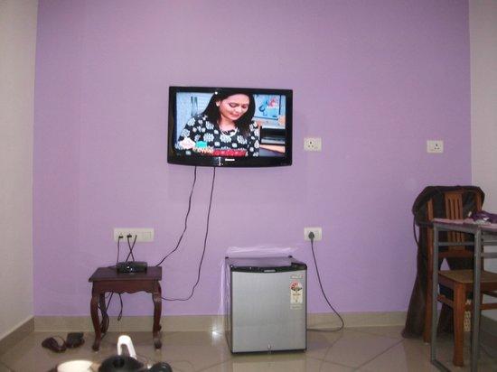 Vasudevam - Premium Suites: view from sofa (drawing room)