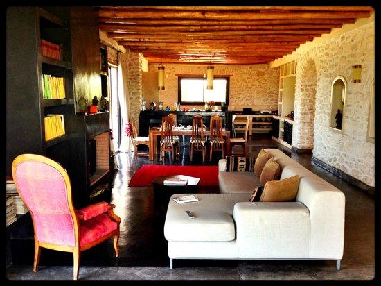 Le Douar des Arganiers : The house