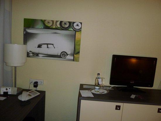Mercure Hotel Koeln West: Оформление комнаты