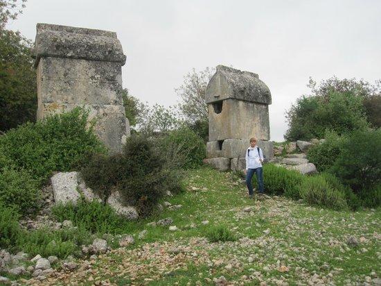 Hoyran Wedre Country Houses: Exploring the Hoyran Necropolis