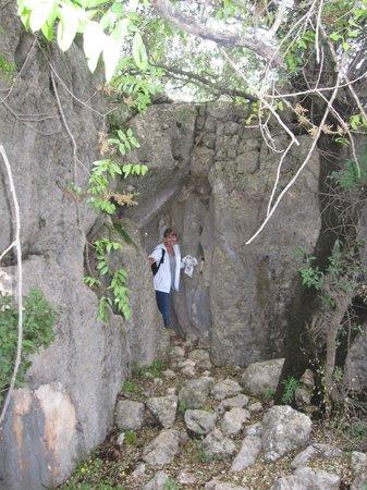 Hoyran Wedre Country Houses: Ancient city walls of Hoyran